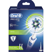 Eltandborste PRO670 CrossAction Oral-B