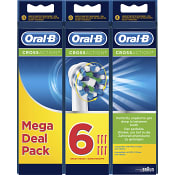 Tandborstrefill CrossAction 6-p Oral-B