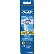 Tandborstrefill Precision Clean 6-p Oral-B