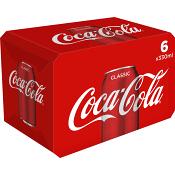 Läsk Coca-Cola 33cl 6-p