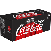 Läsk Coca-Cola Zero 33cl 10-p