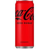 Läsk Zero 33cl Coca-Cola