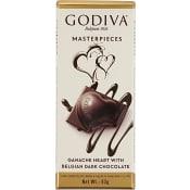 Mörkt Chokladhjärta Ganache 83g Godiva