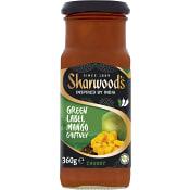 Green label Mango chutney 360g Sharwoods