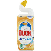 Toalettrengöring WC aktiv gel Citrus 750ml Miljömärkt Duck