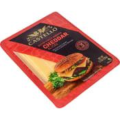 Cheddarost Burger 35% 150g Castello