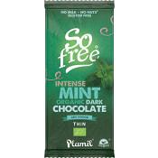 Mörk Choklad Mint Ekologisk 80g Plamil