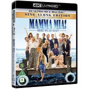 Mamma Mia! Here we go again Blu-ray+4K
