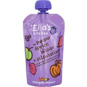 Pumpa äpplen blåbär & sötpotatisar Från 4m Ekologisk 120g Ellas Kitchen