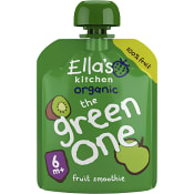 The green one Smoothie av blandade frukter Från 6m Ekologisk 90g Ellas Kitchen