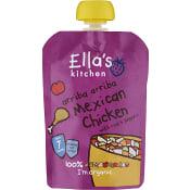 Barnmat Mexikansk Kyckling 7m Ekologisk 130g Ellas Kitchen