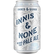 Öl Pale Ale Alkoholfri 33cl Innis & Gunn