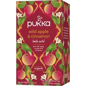Te Wild Apple & cinnamon Ekologisk 20-p Pukka