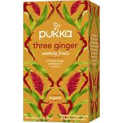 Three ginger te Ekologisk 20-p Pukka