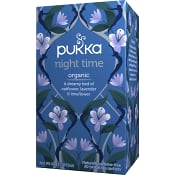 Night time te Ekologisk 20-p Pukka