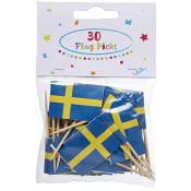 Tandpetare Svenska flaggan 30-p Packers
