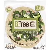 Wrap och Tortilla bröd Glutenfritt 276g Be Free