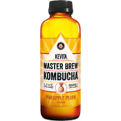 Kombucha Master Brew Pineapple Peach 450ml Kevita