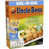 Boil in bag Fullkornsris 500g Uncle Bens