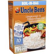 Boil in bag Långkornigt Ris 1kg Uncle Bens