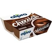 Sojadessert Dark Chocolate 125g 4-p Alpro
