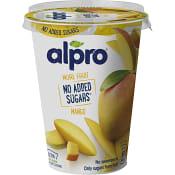 Yoghurt Mango Vegansk Glutenfri Laktosfri 400g Alpro