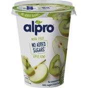 Yoghurt Soyabaserad Äpple & kiwi 400g Alpro