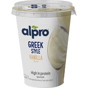 GO ON Vanilj Greek Style 400g Alpro
