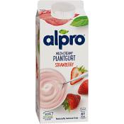 Yoghurt Soya Mild & creamy Jordgubb 750g Alpro