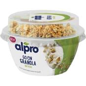Fermenterad Sojaprodukt Granola 140g Alpro