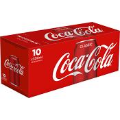 Läsk Coca-Cola 33cl 10-p