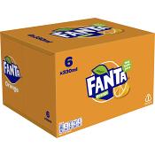 Läsk 33cl 6-p Fanta