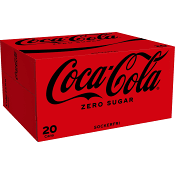 Zero 33cl 20-p Coca-Cola