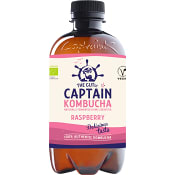 Kombucha Raspberry 400ml Captain Kombucha
