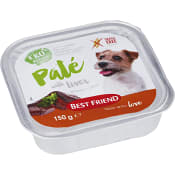 Hundmat Paté Lever Ekologisk 150g Best friend