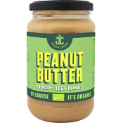 Peanut butter Crunchy 340g KRAV Green choice