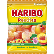 Persikor 80g Haribo