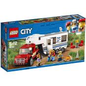 City Pickup och husvagn 60182 LEGO