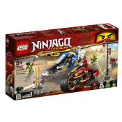 Ninjago Kais vassa motorcykel & Zanes snöskoter 70667 LEGO