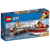 City Eldsvåda i hamnen 60213 LEGO
