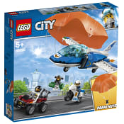 City Luftpolisens fallskärmar 60208 LEGO