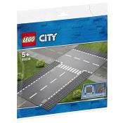 City Rak väg och T-korsning 60236 LEGO
