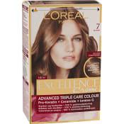 Hårfärg 7 Blonde 1-p Excellence