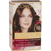 Hårfärg 5.3 Ljus guldbrun 1-p Excellence
