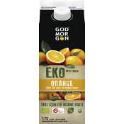 Juice Orange Ekologisk 1,75l KRAV God Morgon