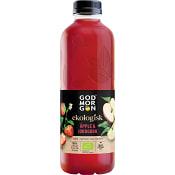 Juice Apple & Strawberry Ekologisk 850ml God morgon