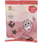 Barnsnacks Tiny peopleé choice Jordgubb dadlar & grönsaker Glutenfri Ekologisk 70g Piece of Nature
