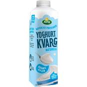 Yoghurtkvarg Naturell 1,9% 1l Arla