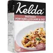 Pastasås Portabellosvamp & ost 4dl Kelda