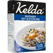 Pastasås färdig Kelda Parmesan & Kyckling 4dl Kelda